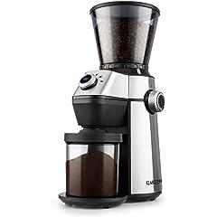 Molinillos de café eléctricos con conos