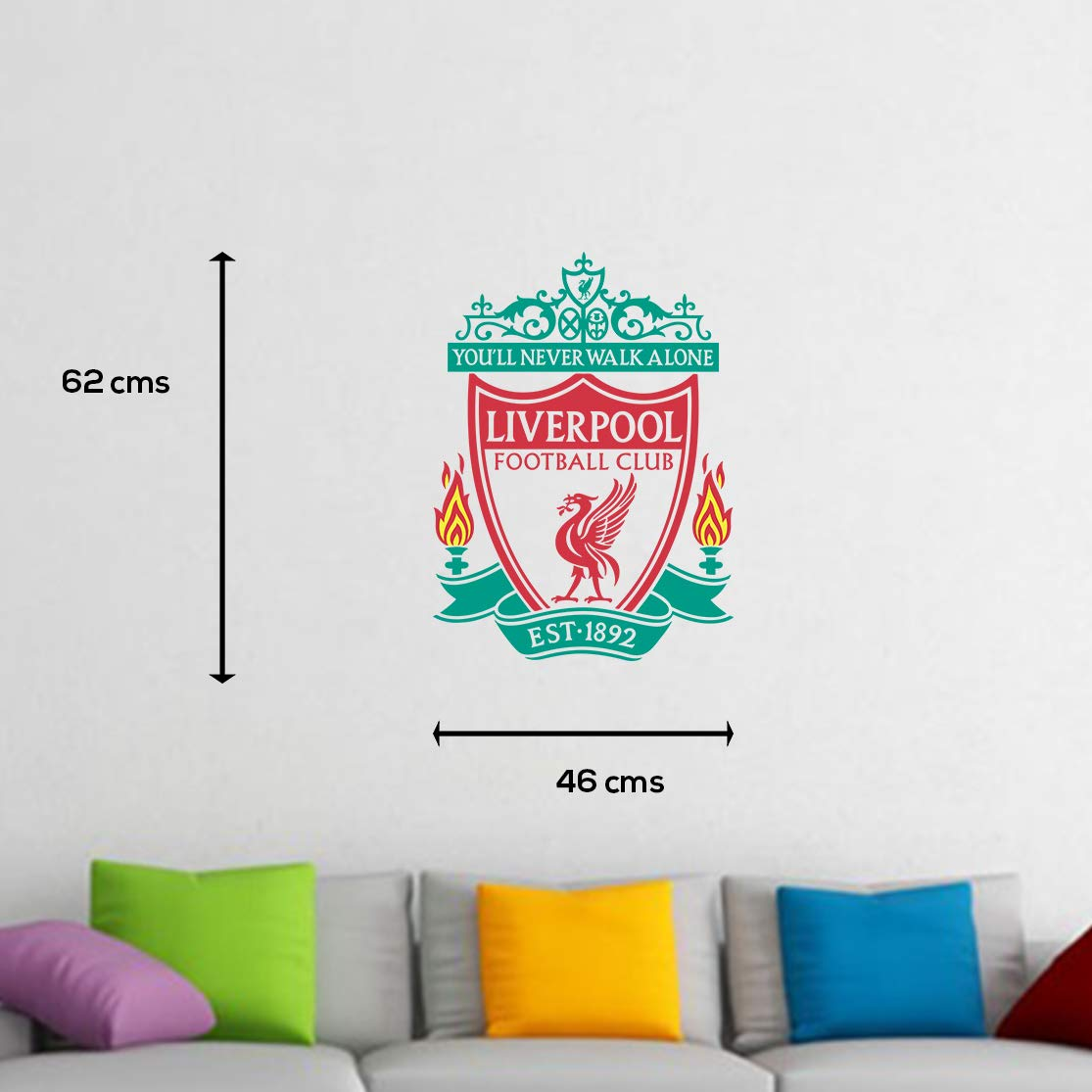 Buy doodad liverpool football wall sticker for boys room online at low prices in india amazon in