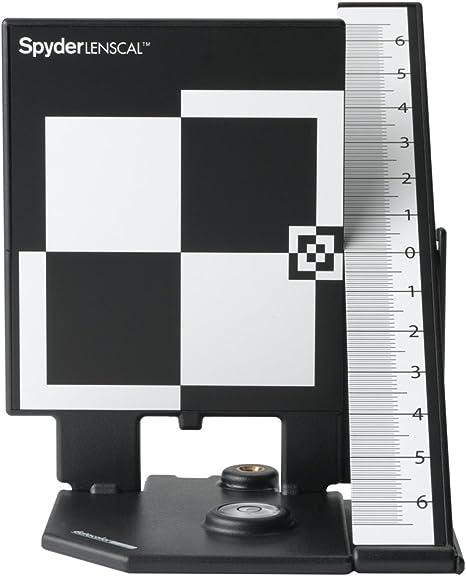 Datacolor SpyderLensCal - Calibrador para cámaras Digitales, Negro ...