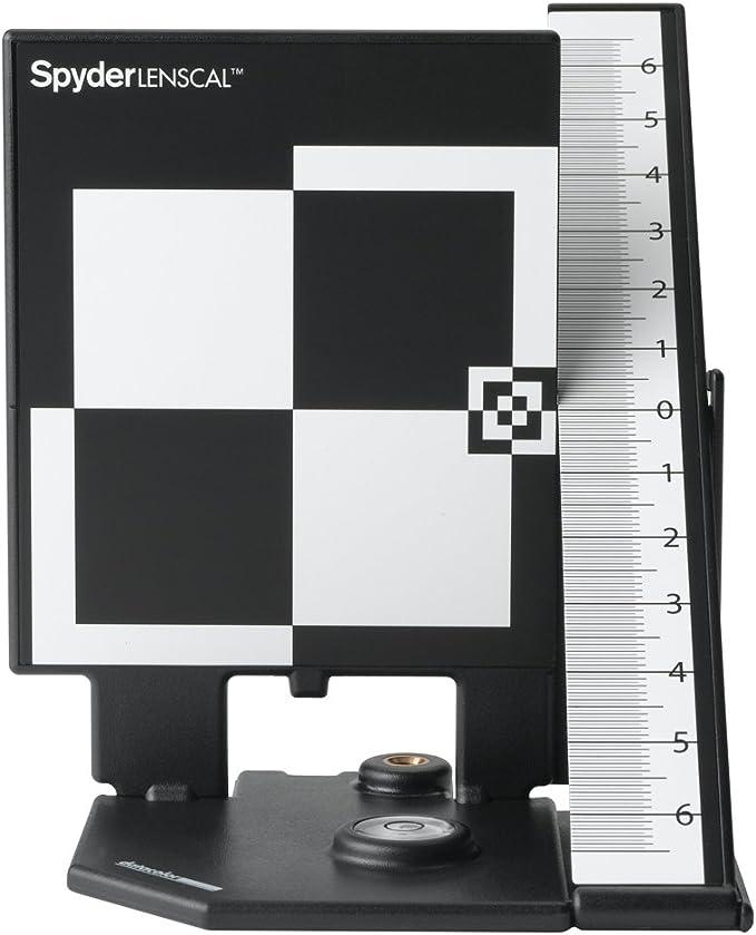 Datacolor SpyderLensCal - Calibrador para cámaras Digitales, Negro, Color Blanco: Amazon.es: Electrónica