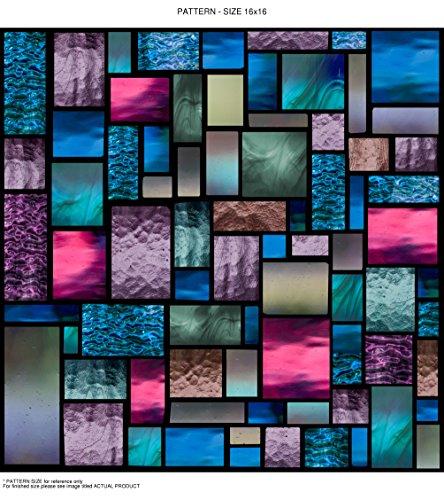 Windowpix WF107-24x84 24x84 Decorative Static Cling Window Film by Windowpix