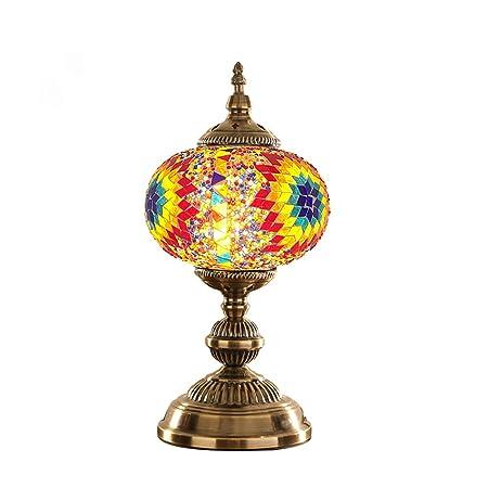 JohnnyLuLu Lámparas de Escritorio turcas marroquíes de época ...