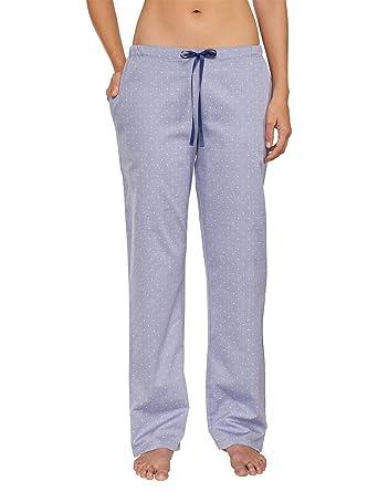 cbd17fe394 Schiesser Damen Web Hose Lang Schlafanzughose: Amazon.de: Bekleidung