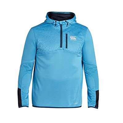 Canterbury Vapodri 1/4 Zip Poly Knit Training Hoodie