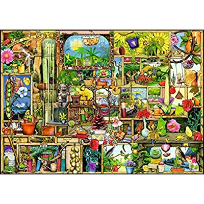 Ravensburger The Gardener's Cupboard 1000 Piece Jigsaw Puzzle for Adults – Every Piece is Unique, Softclick Technology Means Pieces Fit Together Perfectly: Toys & Games