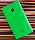 eShop24x7 GREEN Replacement Battery Door Panel Housing Back Cover Case for Nokia Microsoft Lumia 435 Phone