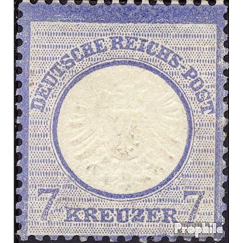 Allemand Empire 26 testés 1872 Adler avec grand pectoral (Timbres pour les collectionneurs)