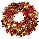 """18"""" Fall Foliage Wreath"""