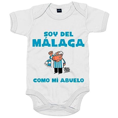 Body bebé soy del Málaga como mi abuelo Jorge Crespo Cano ...