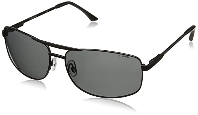 a396faefe6ed Polaroid Polarized Rectangular Unisex Sunglasses - (PLD 2017/S PDE 62Y2|62