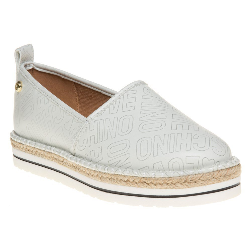 Love Moschino Espadrille Slip On Womens Shoes White by Love Moschino (Image #1)