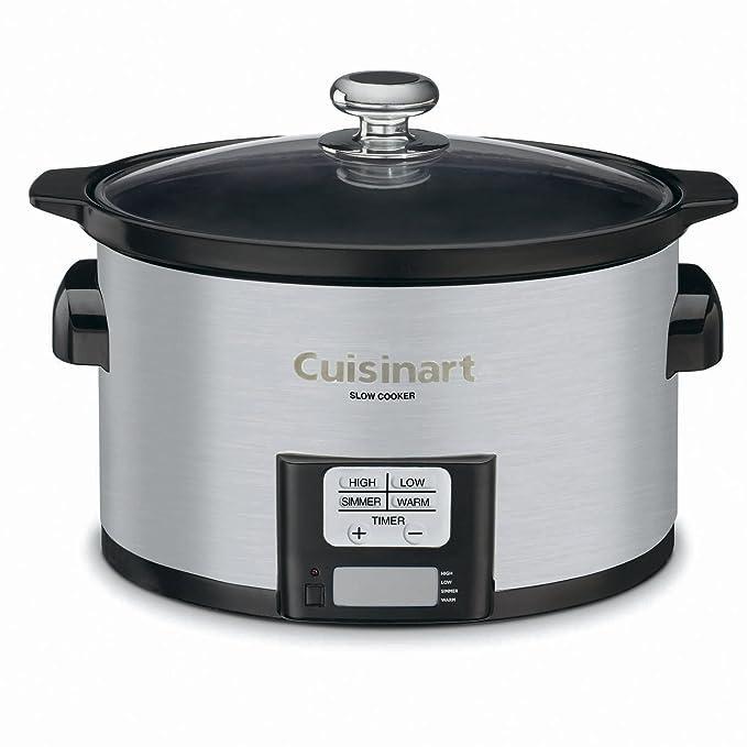 Amazon.com: Cuisinart PSC-350 3-1/2-Quart Programmable Slow Cooker: Kitchen & Dining