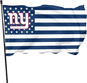 Stockdale New York Giants Garden Flag Christmas Outdoor Decoration Banner 3x5 ft