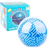 mciskin Maze Ball Mini 3D Magic Puzzle Intelligence & Idea Maze Game Toys - Hard Challenging Labyrinth Gifts for kids and Adults