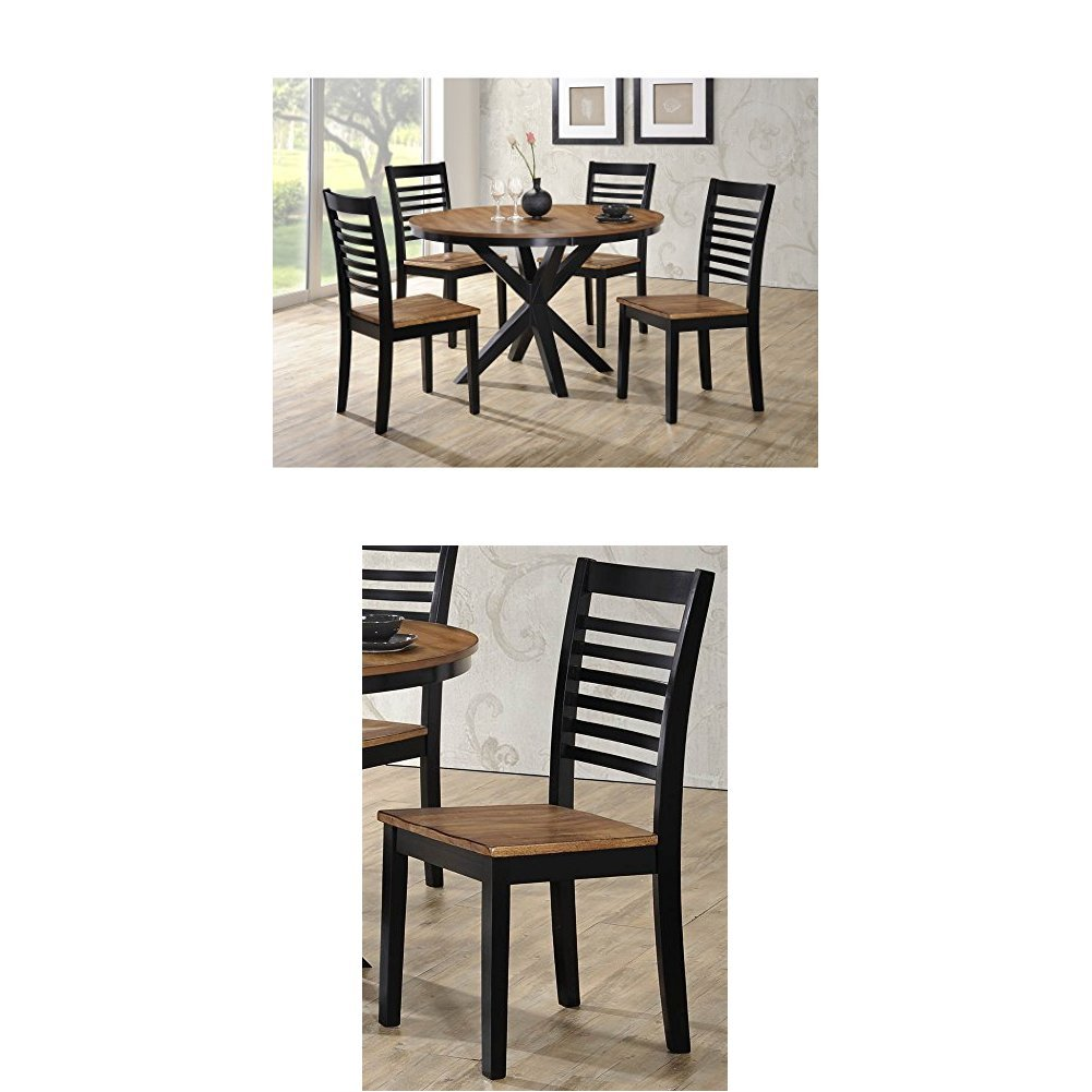 Simmons Upholstery South Beach 5 pc Dining Set with Dining Table and 4 Dining Chairs