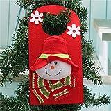 Christmas Xmas Decoration Hanging Santa Clau Snowman Elk Christmas Decoration(Random: Pattern)