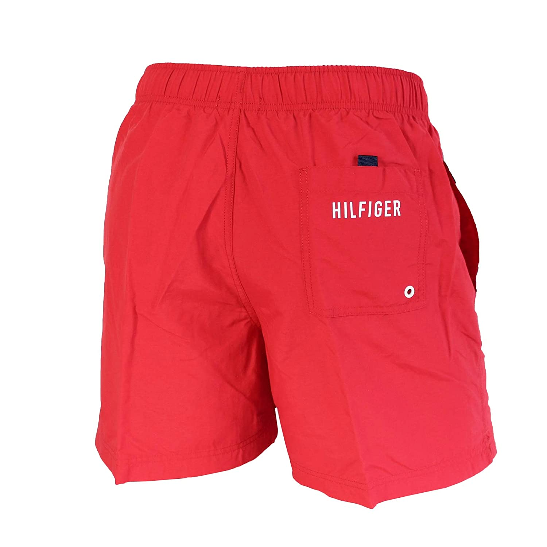 0066b412b1 Tommy Hilfiger Logo Swim Short Red: Amazon.ca: Clothing & Accessories