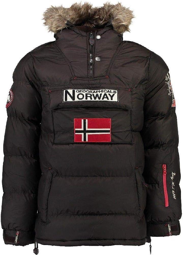 Geographical Norway Chaqueta Hombre BOKER MARRÓN M: Amazon.es ...
