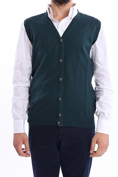 Altea Gilet Uomo Verde  Amazon.it  Abbigliamento d43e5362e08