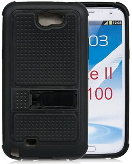 info for 88b2c 78c4a Galaxy Note 2 Case, iSee Case(TM) Hybrid Rugged Heavy Duty Case with  Built-in Kickstand for Samsung Galaxy Note 2 N7100 (Note2-Door Black)