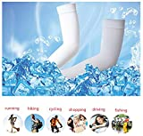 UV Protection Cooling Arm Sleeves Long Sun Sleeves