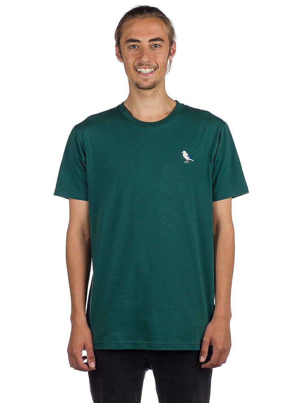 Cleptomanicx Herren T-Shirt T-Shirt T-Shirt Embro Gull T-Shirt B07D583H4B T-Shirts Flut Schuhe Liste 583208