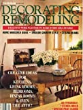 Decorating Remodeling March/April 1986 Creative Ideas for Kitchens Living Rooms Bedrooms Dining Rooms & Even the Attic, Stencil Walls, Spatter Paint Floors, Home Makeover Guide, English Country Style, Ceiling Beams
