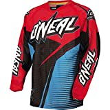 O'Neal Racing Hardwear Flow Vented Men's Off-Road Motorcycle Jersey - Blue/Red / Small