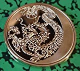 Russian Dragon Gold Plated Challenge Art Coin