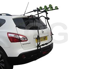 Car 3 Bike Cycle Carrier Rack Rear Door Boot Mounted Nissan
