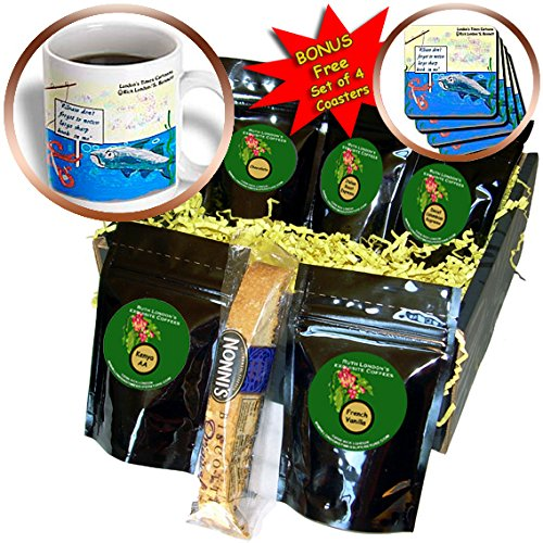 londons-times-fish-fishing-deep-beneath-cartoons-loudmouth-worm-coffee-gift-baskets-coffee-gift-bask