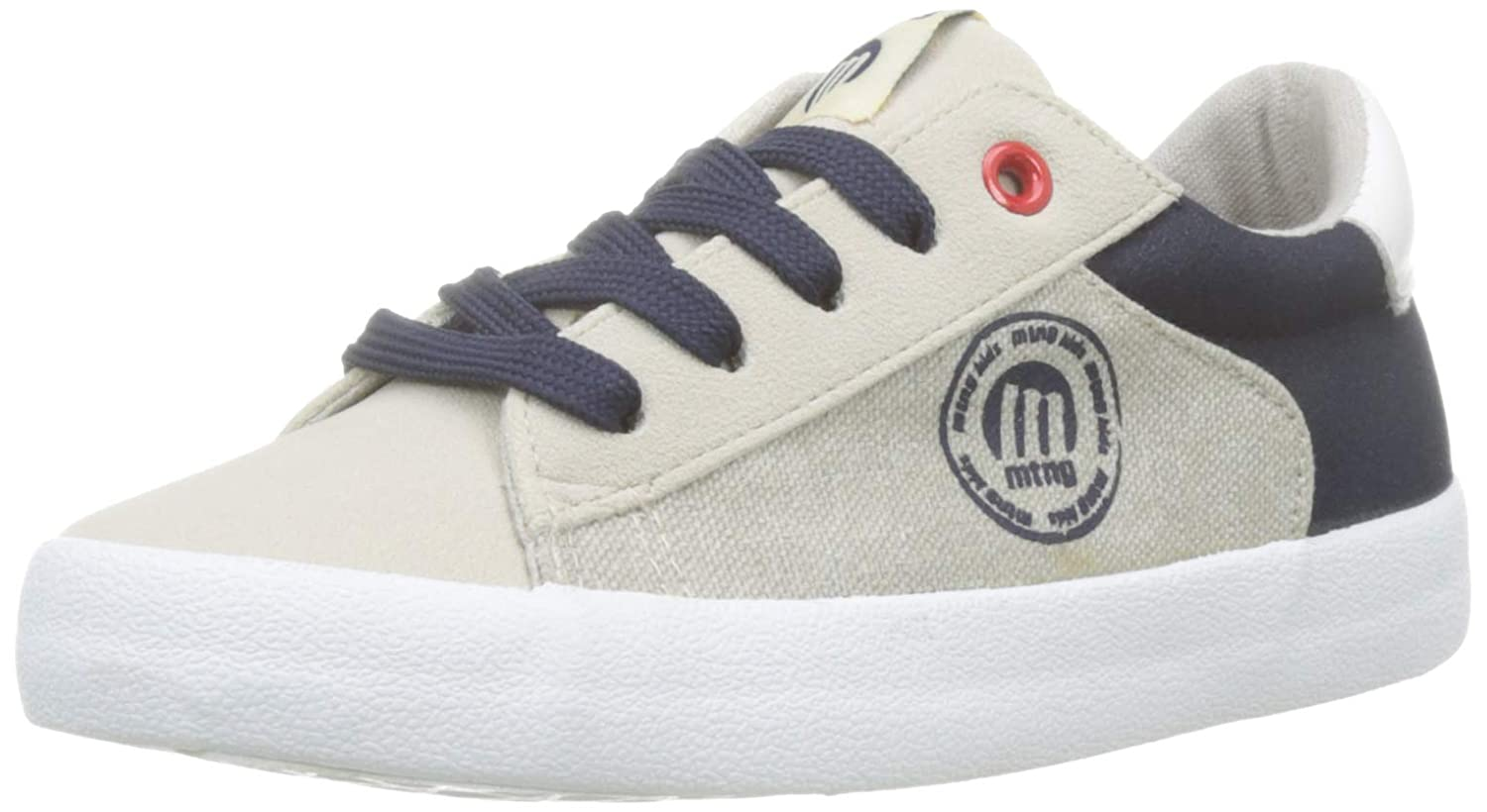 MTNG Boys/' 47749 Low-Top Sneakers 1 UK Beige White//Rica Marino C45303