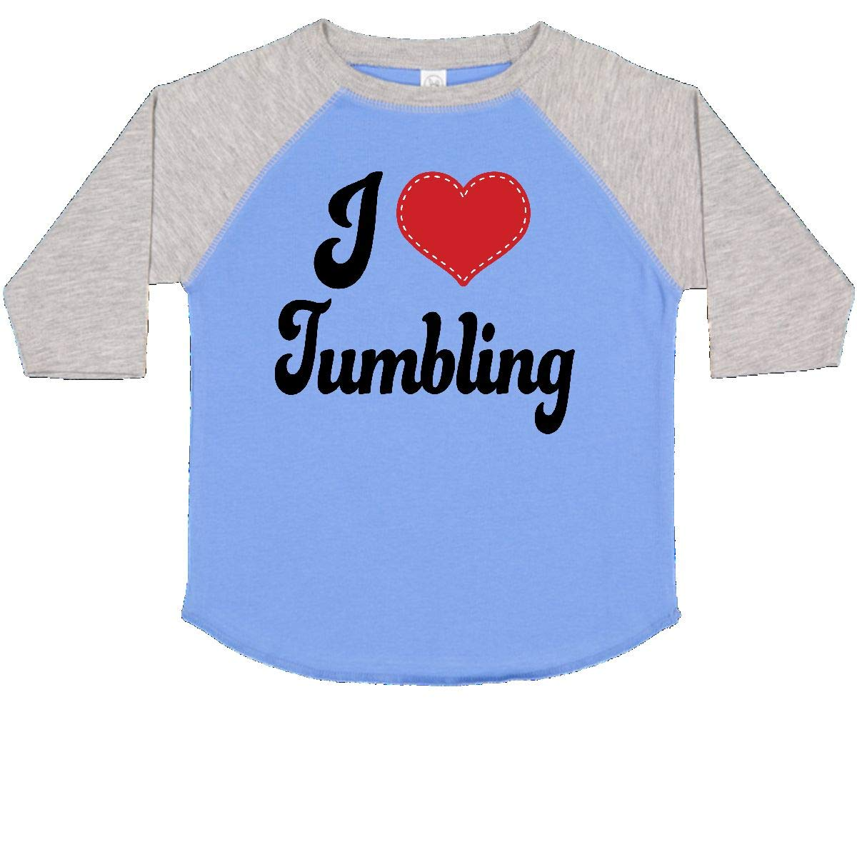 inktastic I Love Tumbling Toddler T-Shirt
