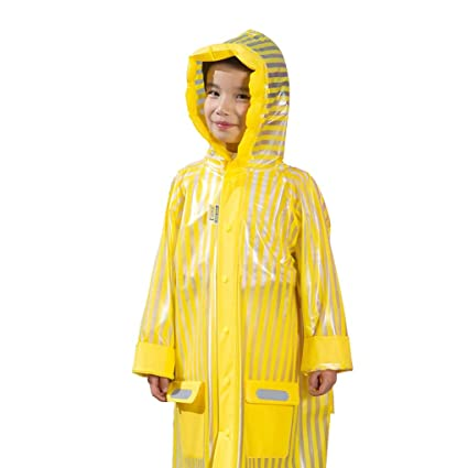 c67e83d5d Amazon.com  Rain Poncho for Kids to Cover Backpack