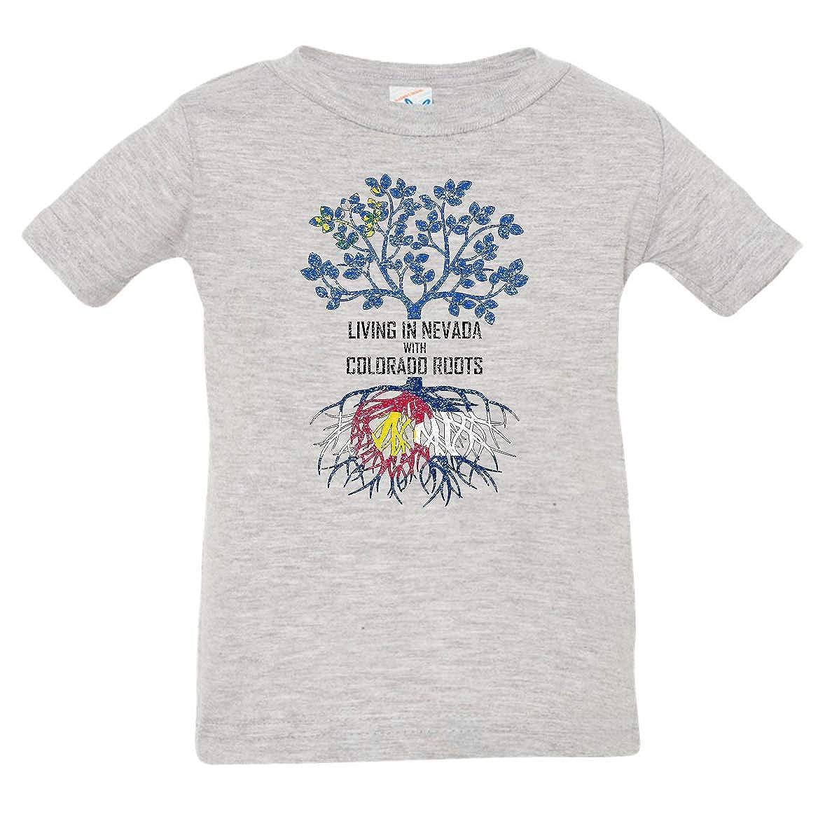 Tenacitee Babys Living in Nevada Colorado Roots Shirt