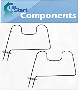 2-Pack 7406P428-60 Oven Heating Element Replacement for Jenn-Air JDR8895AAS - Compatible with WP7406P428-60 Bake Element