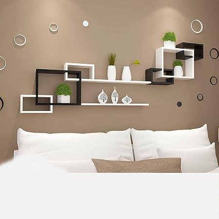 Luglio Mensola a muro Mensola Mensola Bianca e Nera Adesivo