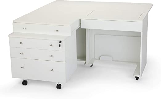 Kangaroo Kabinets /& Joey Sewing Cabinet in Teak Kangaroo Kabinets