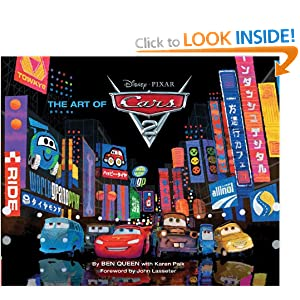 The Art of Cars 2 (Disney Pixar) Ben Queen
