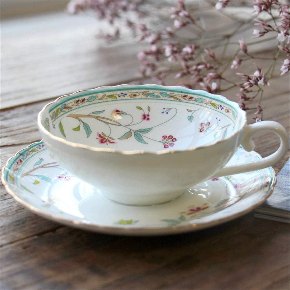 Taza de té flores