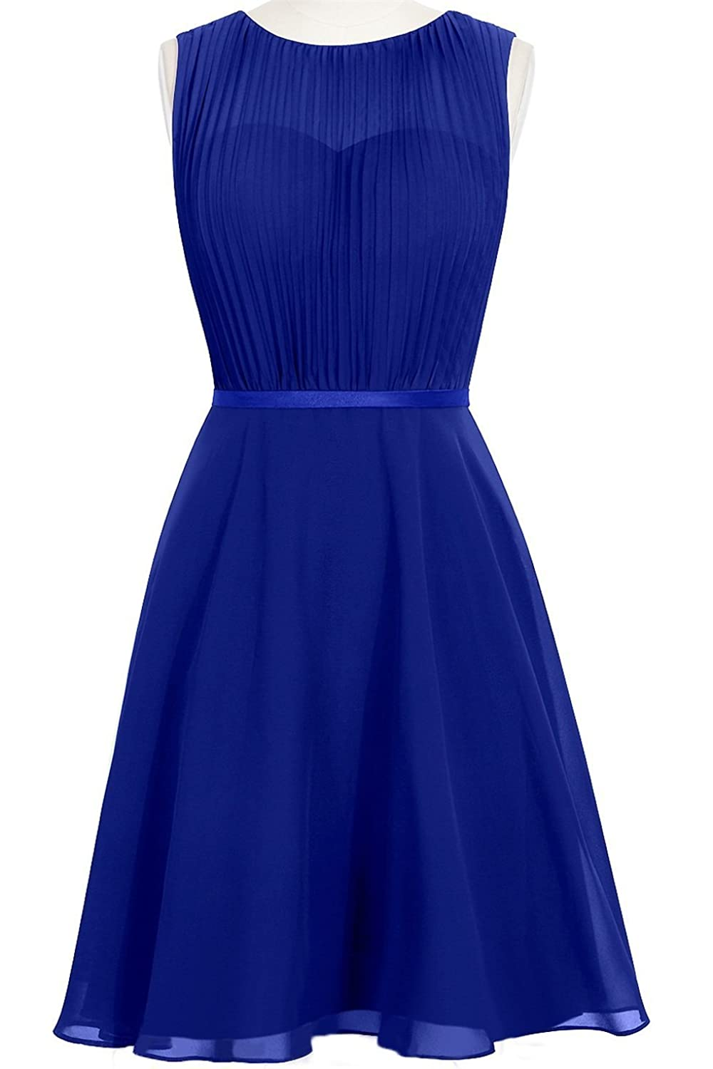 MittyDresses 2015 New Cocktail Homecoming Dresses for Girl Evening Party Size 22W US Royal Blue