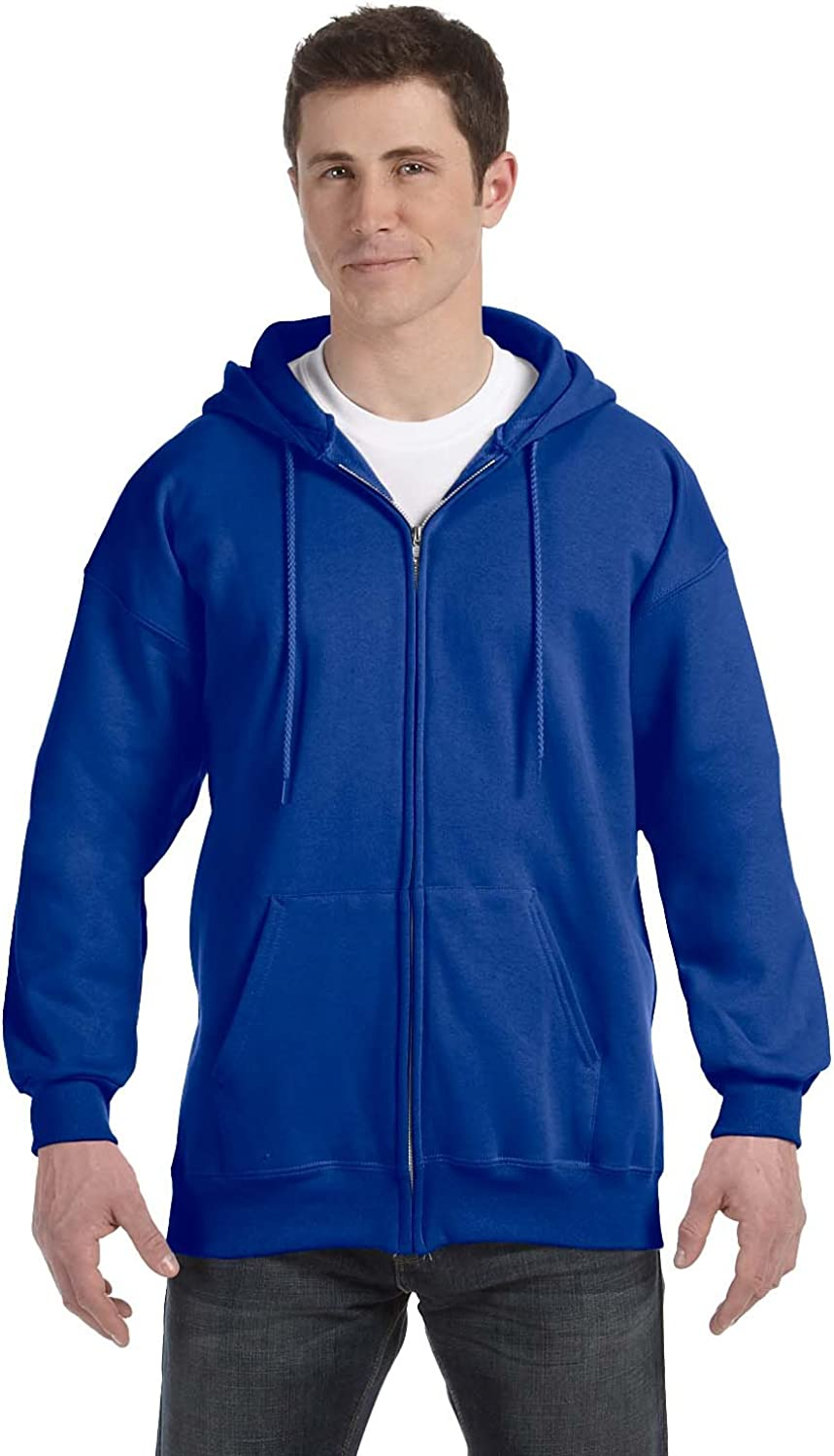 Hanes Ultimate Cotton Adult Fleece Full-Zip Hoodie
