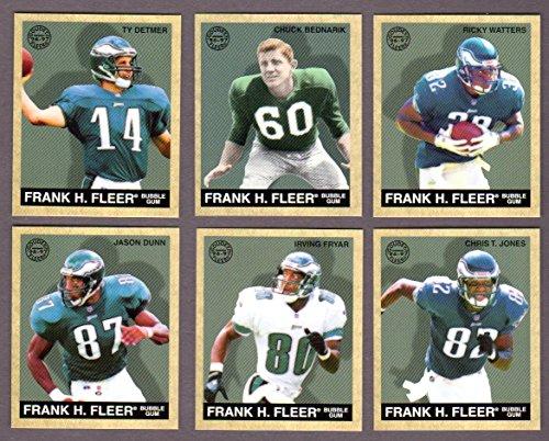 Philadelphia Eagles 1997 Fleer Goudey Football Team Set** (Chuck Bednarik) (Ricky Watters) (Ty Dermer) (Chris T. Jones) (Irving Fryer) (Jason (City Of Irving Texas)
