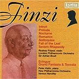 Finzi: Nocturne / Severn Rhapsody / Eclogue / Introit / Prelude / Romance / Soliloquies / Fall of the Leaf / Grand Fantasia & Toccata