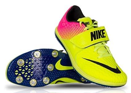 f4d0156059a27 Amazon.com: Nike Mens Zoom HJ High Jump Elite Spikes Shoes Volt Pink ...