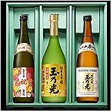 玉乃光 人気の純米大吟醸・純米吟醸 飲み比べセットTG-3B 京都・伏見 日本酒