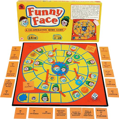 Family Pastimes Funny Face - A Co-operative Mime Game by Family Pastimes