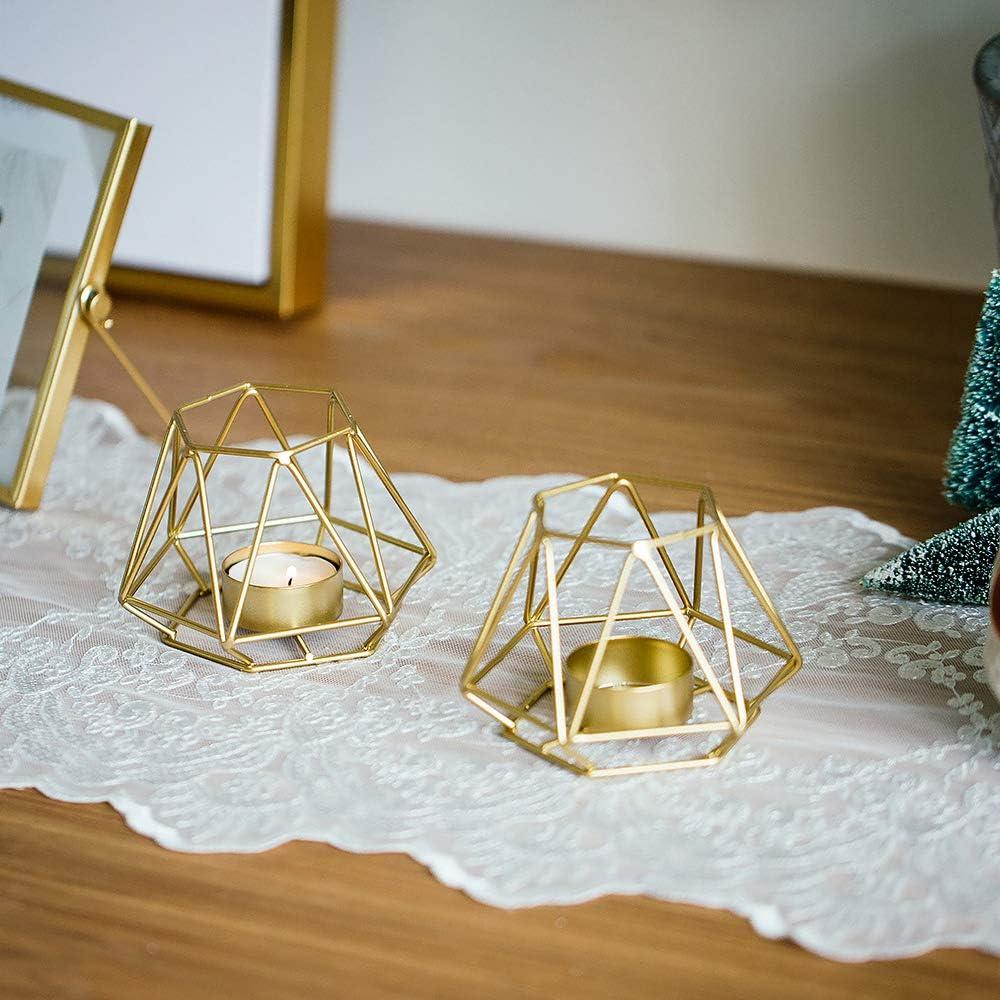 Kerzenhalter geometrisch