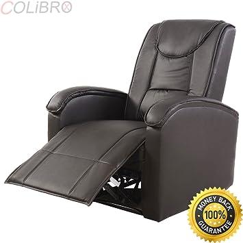 Amazon.com: COLIBROX--Ergonomic Sofa Chair Recliner Lounge Deluxe PU ...