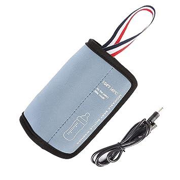 Baby Flaschenw/ärmer Tasche Portable USB Heizung Muttermilchw/ärmer Tasche Isolierte Baby Bottle Bag zum Reisen